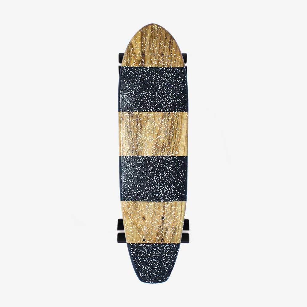 Black Stripes Cruiser Otherside Skateboards