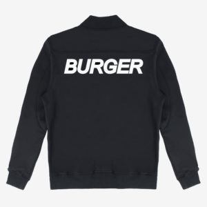 Burger Neoprene Baseball Jacket