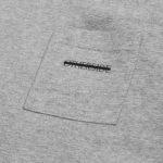 Pocket t-shirt Logo details2